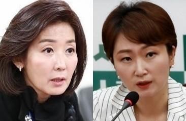 """정청래, 나경원-이언주 동시 저격…""""나언주씨 서로 경쟁하나"""""""