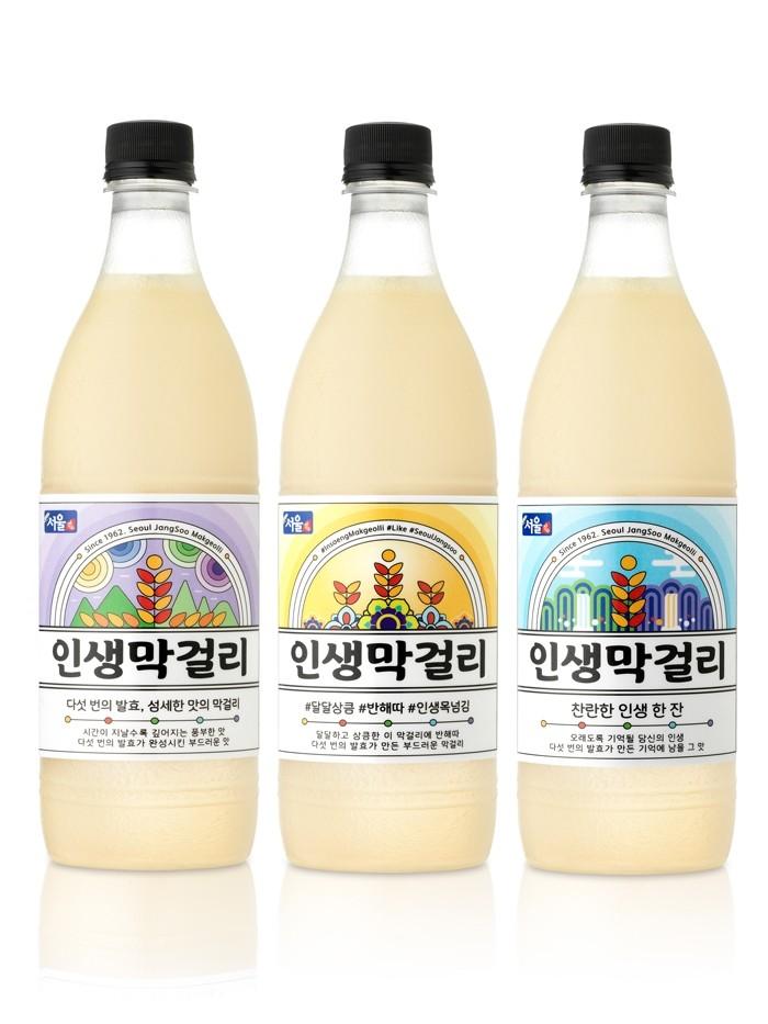 장수막걸리의 서울장수, 22년 만에 신제품 '인생막걸리' 출시
