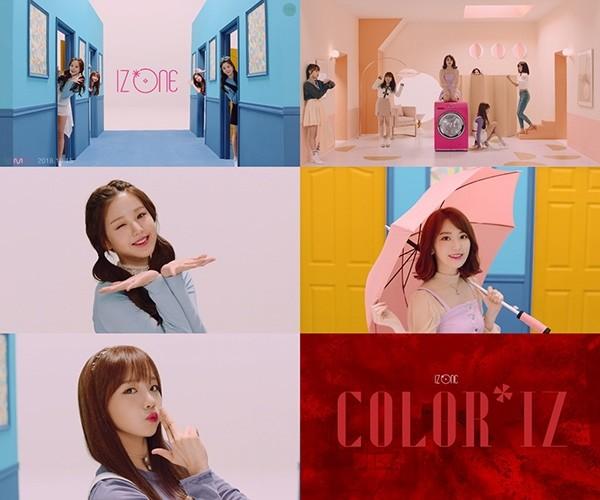 '29일 정식 출격' 아이즈원(IZ*ONE), 데뷔 트레일러 'What IZ your color?' 공개