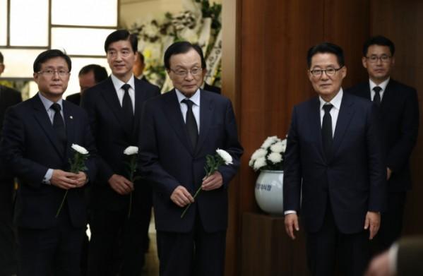 박지원 의원 부인 별세, 308일간 매일 병간호…여야 정치인 조문 행렬