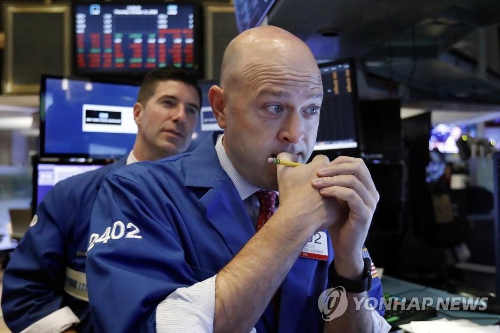 다우 0.35% 하락..美 금리 상승세 둔화