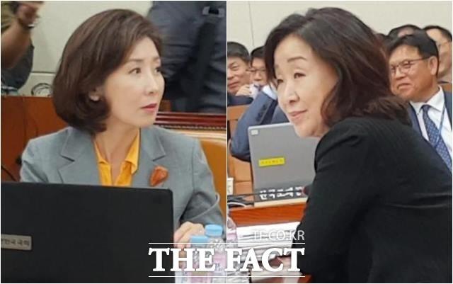 """""""당신들이 우주 중심이냐"""" 나경원 꾸짖은 심상정 (영상)"""