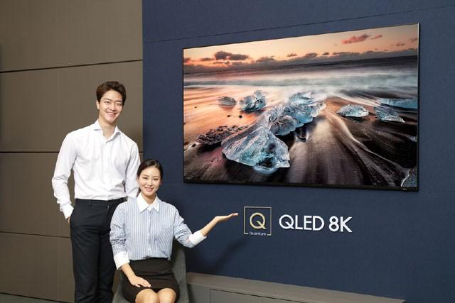 삼성전자, 풀HD 16배 화소 'QLED 8K' 국내 판매 시작