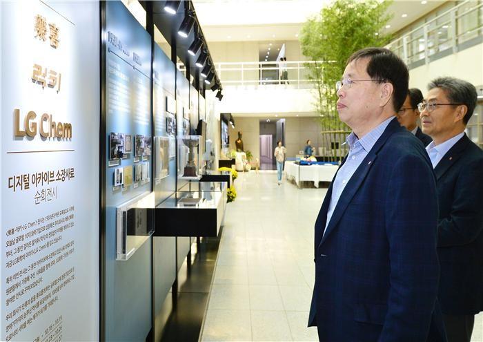 """""""기록하라""""…박진수 LG화학 부회장의 '적자생존론'"""