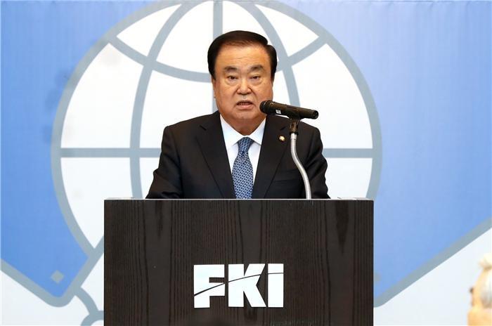 """문희상 의장 """"한미 혈맹 바탕으로 경제협력 왕성하게"""""""