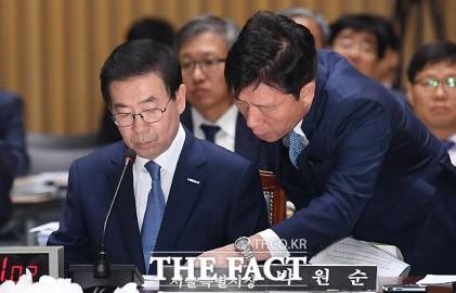 "[TF현장]서울시 국감서 野 ""과정은 공정하고 결과는 정의롭게"""
