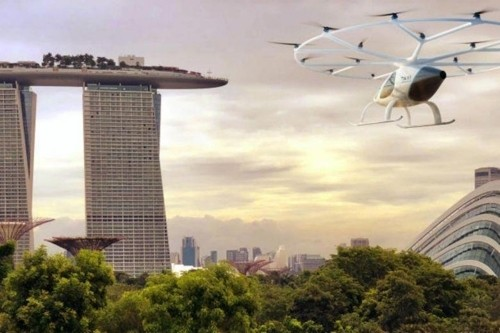 하늘 나는 택시 실현 '눈 앞에'…내년 싱가포르서 시험 가동