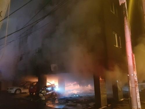 김해 화재, 4살 아이 숨지고 9명 중·경상…'3명은 위독'