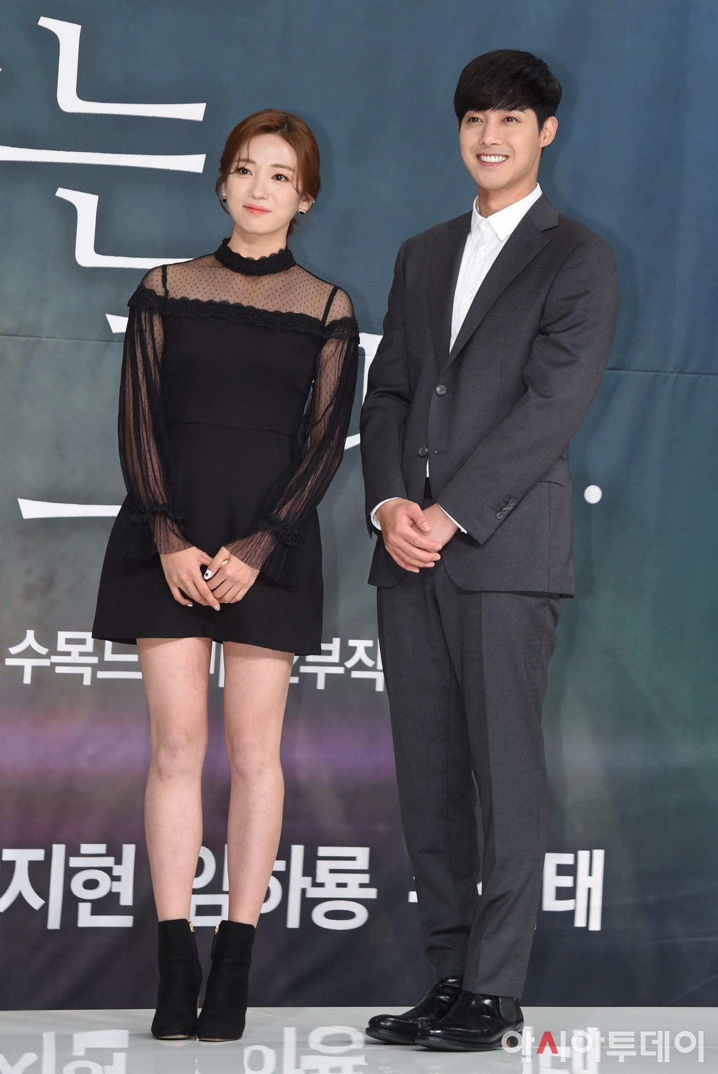 안지현-김현중, 어색한 커플?