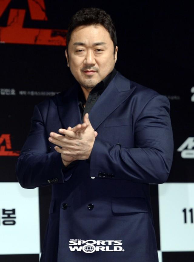 영화 '성난황소' 마동석, 특이한 액션 선보여