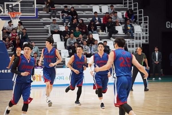 굿피플, 의료지원 사업 위한 'KCBL 연예인 농구대회' 폐막
