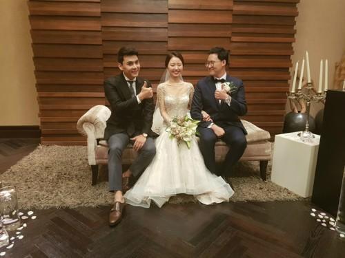 서지안, '웨딩싱어' 첫 번째 주인공 부부 결혼식장서 특급 축가 선물