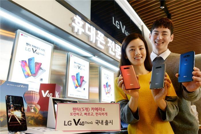 '카메라 특화' LG V40씽큐·삼성 갤A7 국내 동시 출격
