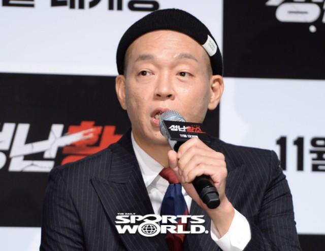 배우 박지환, 코믹연기 준비