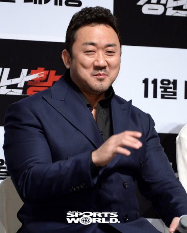 영화 '성난황소' 마동석, 색다른 액션 선보여