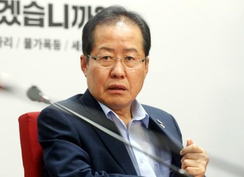 """홍준표 """"일부 세력, 나를 대선 팻감으로만 사용… 선거 이후 당권 노려"""""""