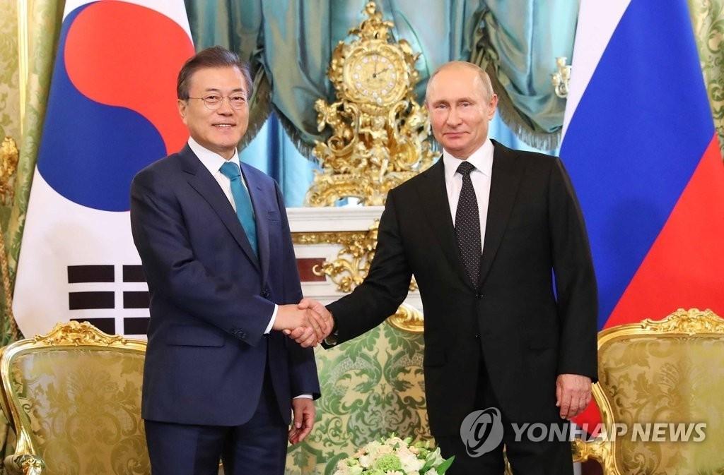 문재인 대통령, 내일 푸틴과 네번째 정상회담…비핵화 입장 조율