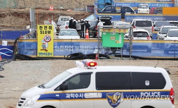 삼성물산 물류센터 '끼임사고'…의식불명