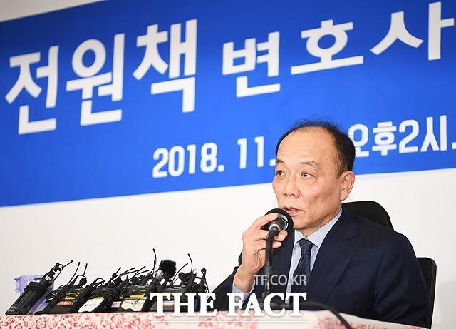 조강특위 위원 해촉 입장 밝히는 전원책 변호사