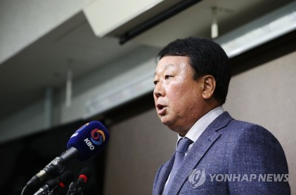 선동열, 국가대표팀 감독 사임 의사 밝혀
