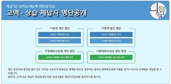 행안부, 지방세 고액·상습 체납자 공개…불명예 1위 '오문철'