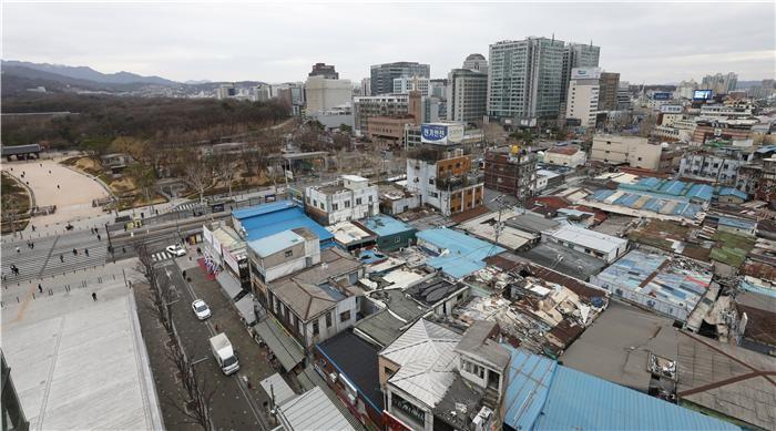 도시환경정비사업지로 눈길 돌리는 건설업계