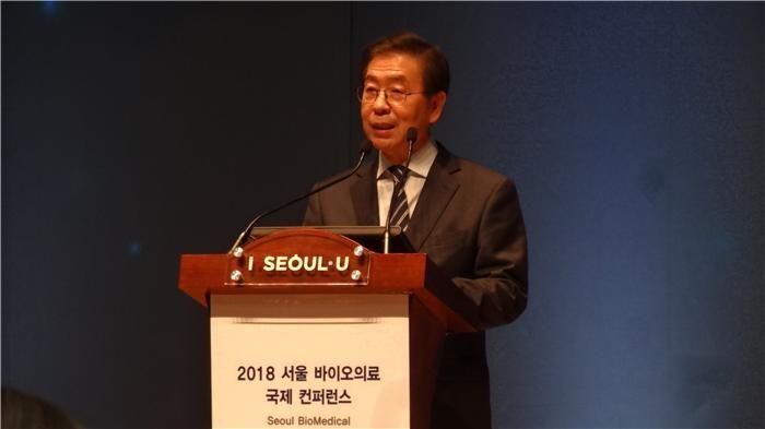"""동북아 바이오메카 꿈꾸는 서울…박원순 """"규제 혁신 전폭 지원"""""""