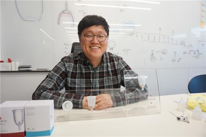 """""""스마트 생리컵 시장 창출…여성 건강 데이터 플랫폼될 것"""""""