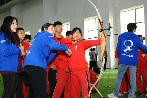 현대모비스, 中 어린이 양궁교실 개최