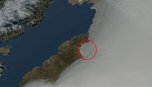 그린란드 빙하 아래서 운석 충돌구 확인…300만~1만2천년 전 추정