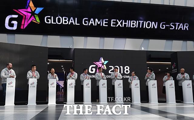 '시작된 국내 최대 게임쇼!'…지스타 2018