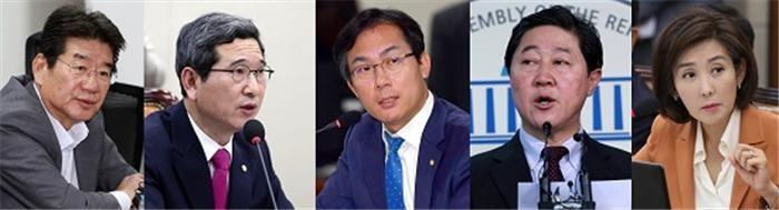 한국당 원내대표 선거 윤곽…후보단일화·당원권정지 변수