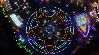 별빛, 꿈을 그리다 - 울산대공원 장미원 빛축제 2018