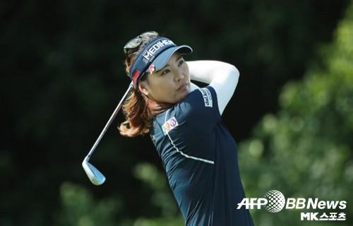 유소연, 시즌 최종전 CME그룹 투어 3R 공동 4위