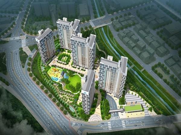 '김해 한라비발디 센트럴파크', 다세권 아파트로 관심 높아