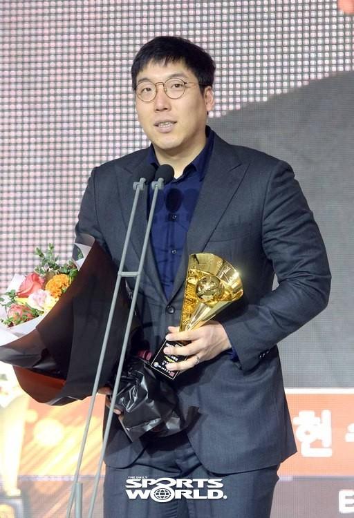 2018 KBO리그 타율상은 LG 김현수