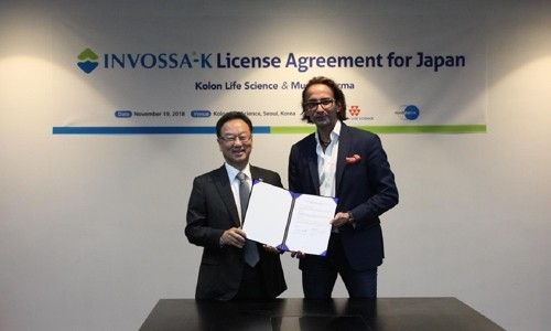 코오롱생명과학, 일본에 골관절염 치료제 '인보사' 6677억원 규모 기술수출