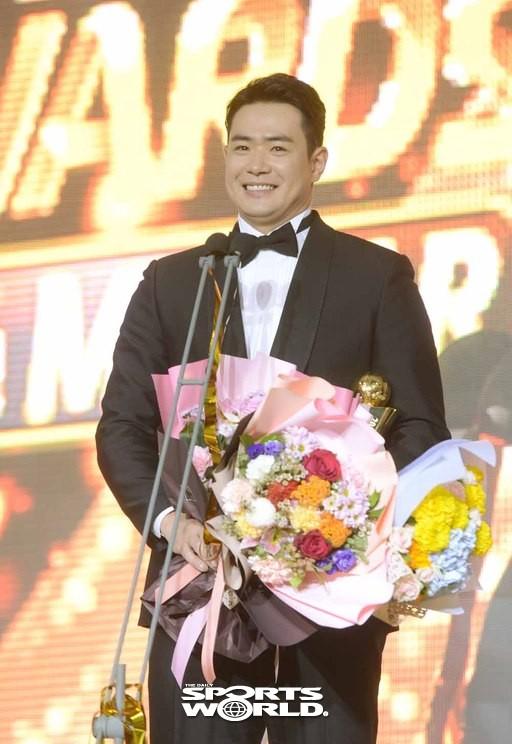 두산 김재환,'2018 KBO 리그 MVP'