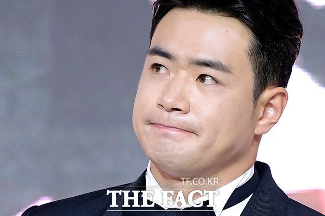 '홈런상-타점상' 두산 베어스, 김재환…'눈가 촉촉'