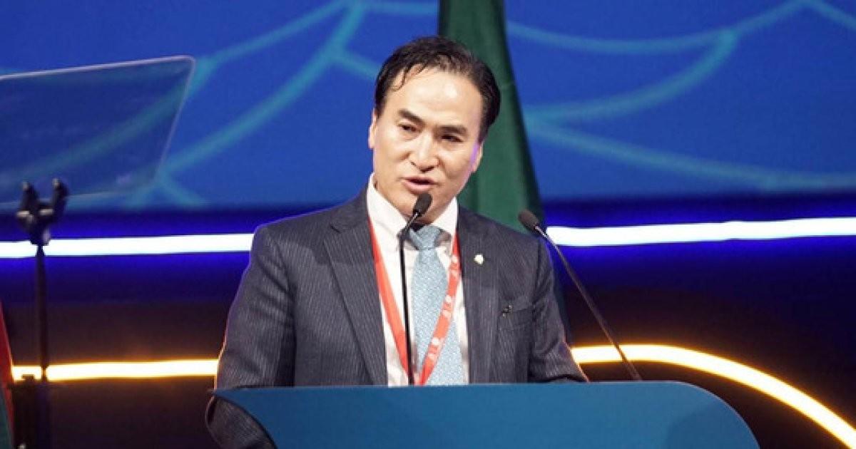 세계경찰 수장된 김종양 신임 인터폴 총재