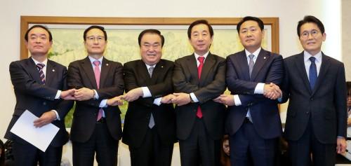 '채용비리' 국조 합의…세부안 빠져 '재격돌 여지'
