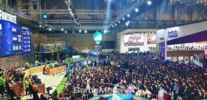 포트나이트 알렸다, 지스타 에픽게임즈 부스 15만 명 방문