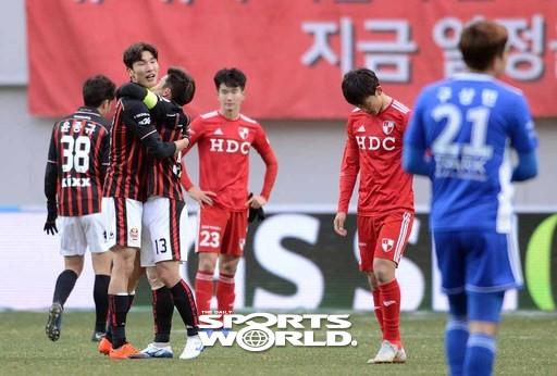 FC서울 ,'K리그1 잔류 확정'