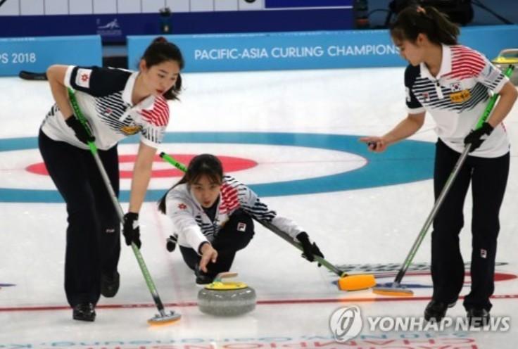 여자컬링, 월드컵 결승 진출...상대는 일본