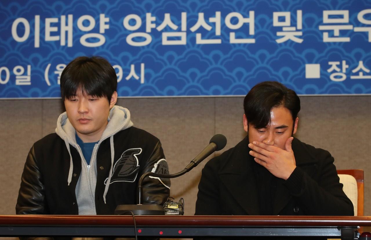 """한화 정우람, 이태양 승부조작관련 언급에 """"법적 대응 준비 중"""""""
