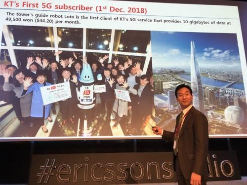 KT, 스웨덴서 '5G 세미나' 참여…대한민국 5G 리더십 전파
