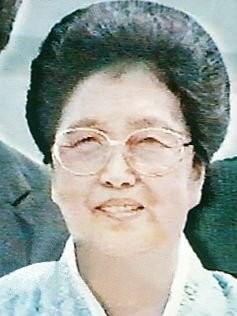 북한 김일성 부인 김성애, 통일부 사망 확인