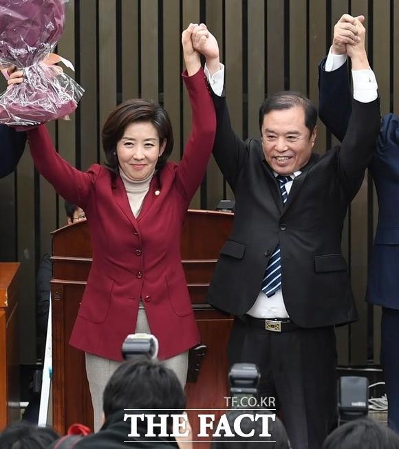 나경원과 김병준 비대위의 불편한 동거?
