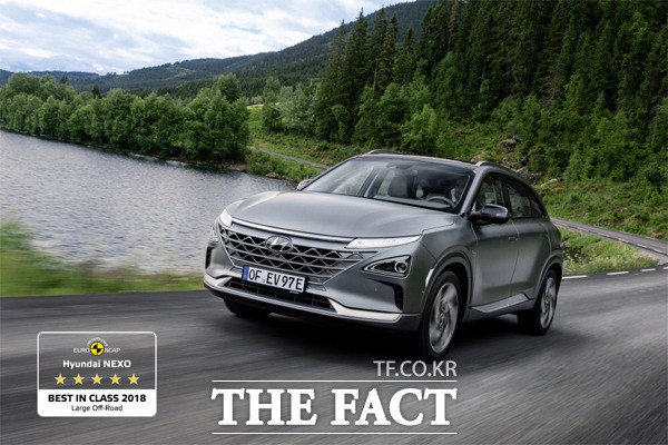 현대차 '넥쏘' 유럽서 가장 안전한 SUV 등극