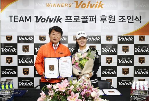 "LPGA 최연소 데뷔 전영인, ""미국무대 도전은 볼빅과 함께"""